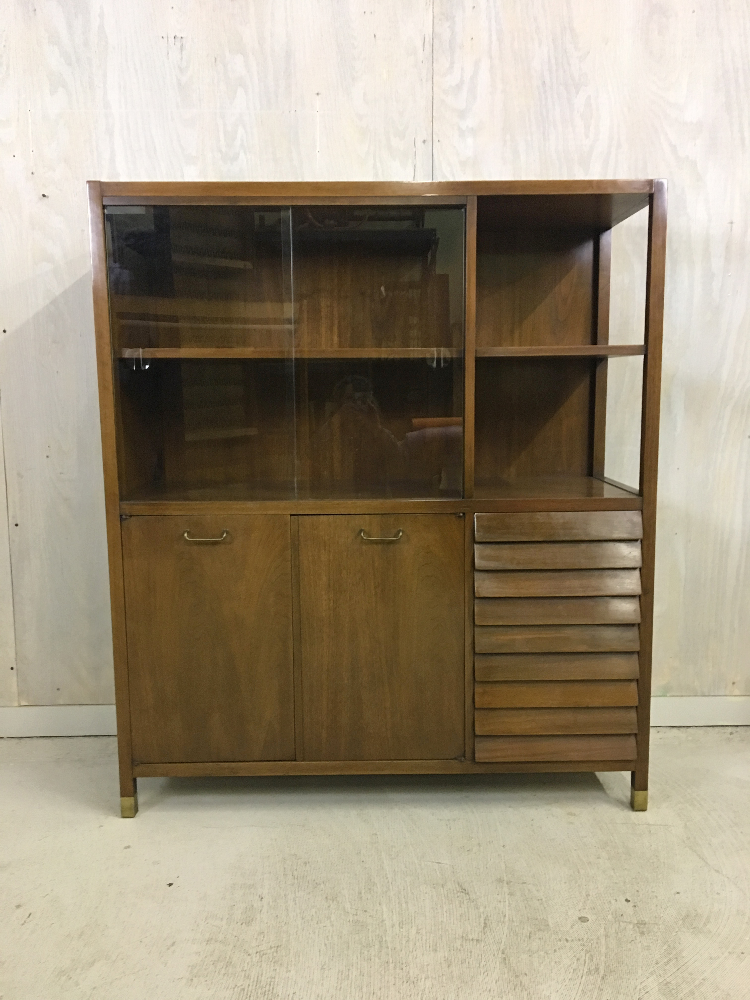 Merton Gershun for American of Martinsville China Cabinet
