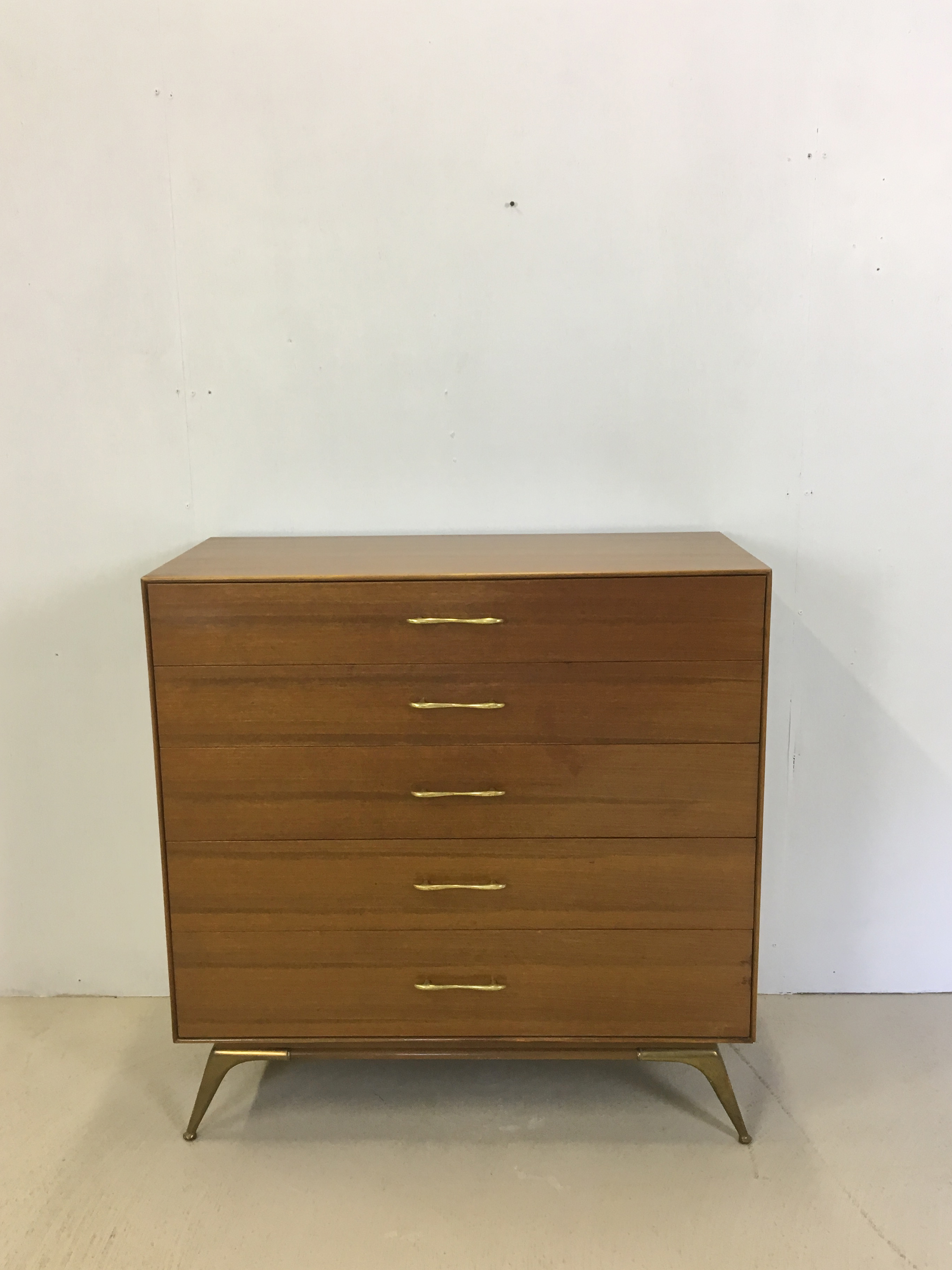 Rway Mahogany Highboy Dresser