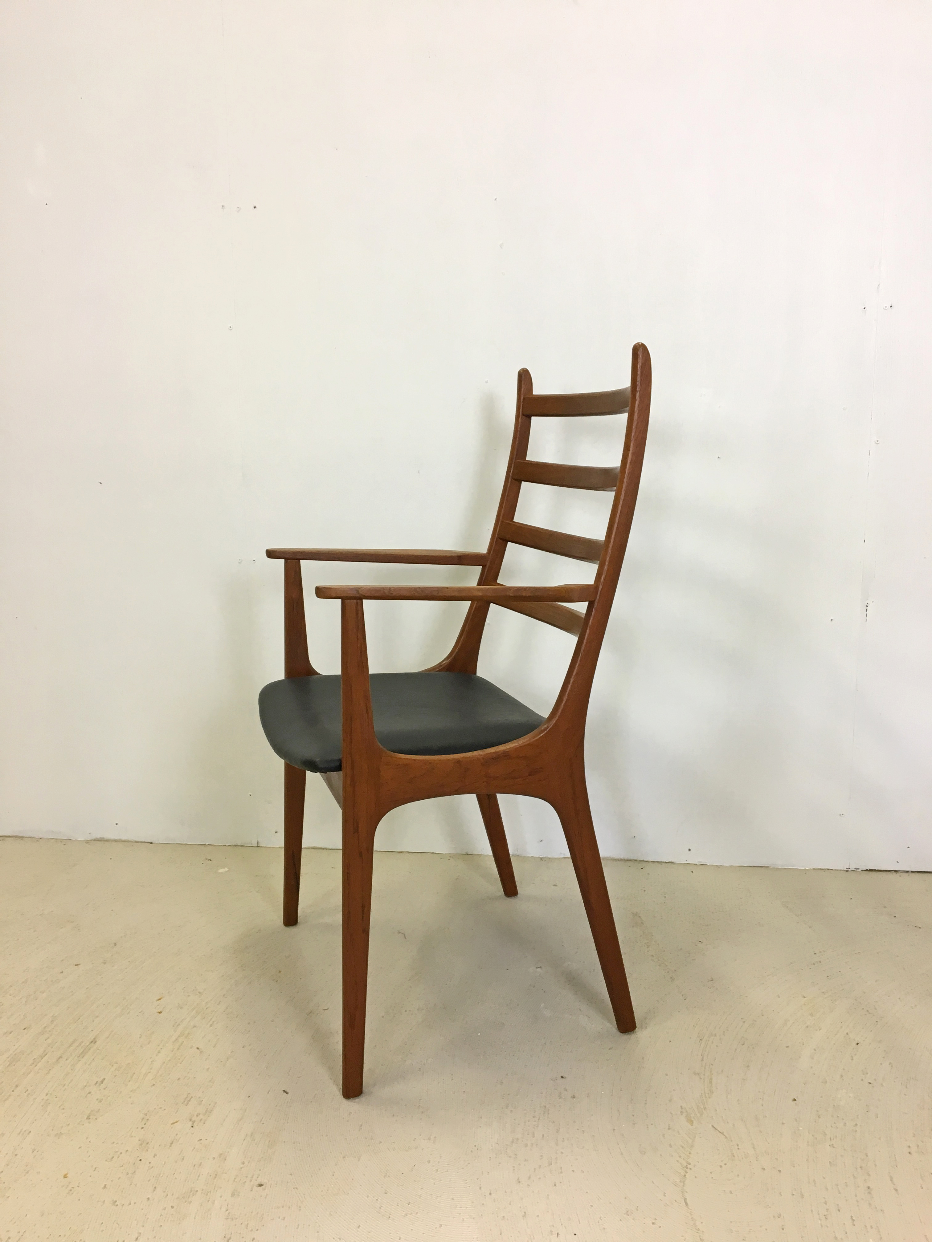 Danish Modern Teak Dining Chairs by Kai Kristiansen