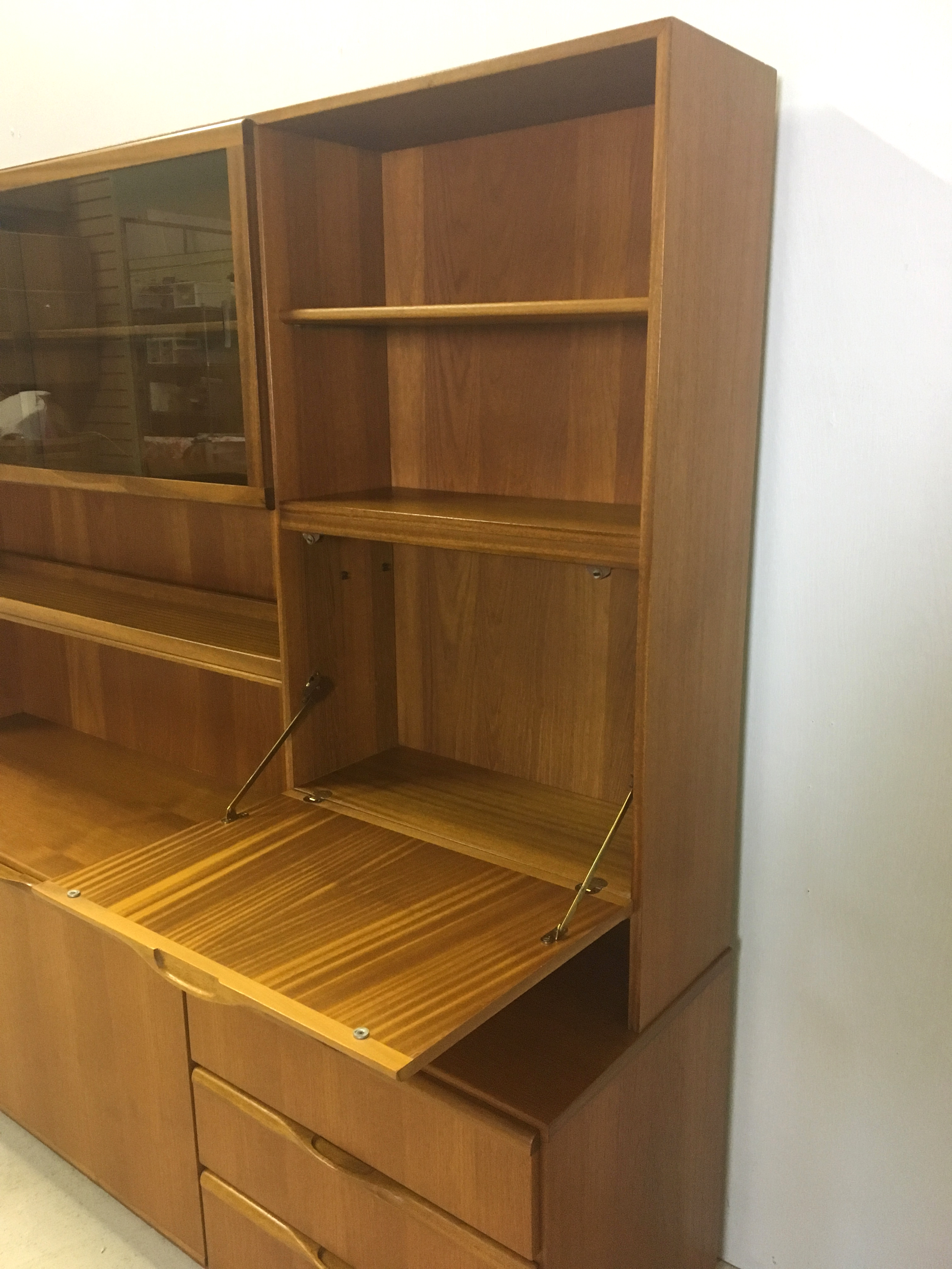 Teak Wall Unit by McIntosh