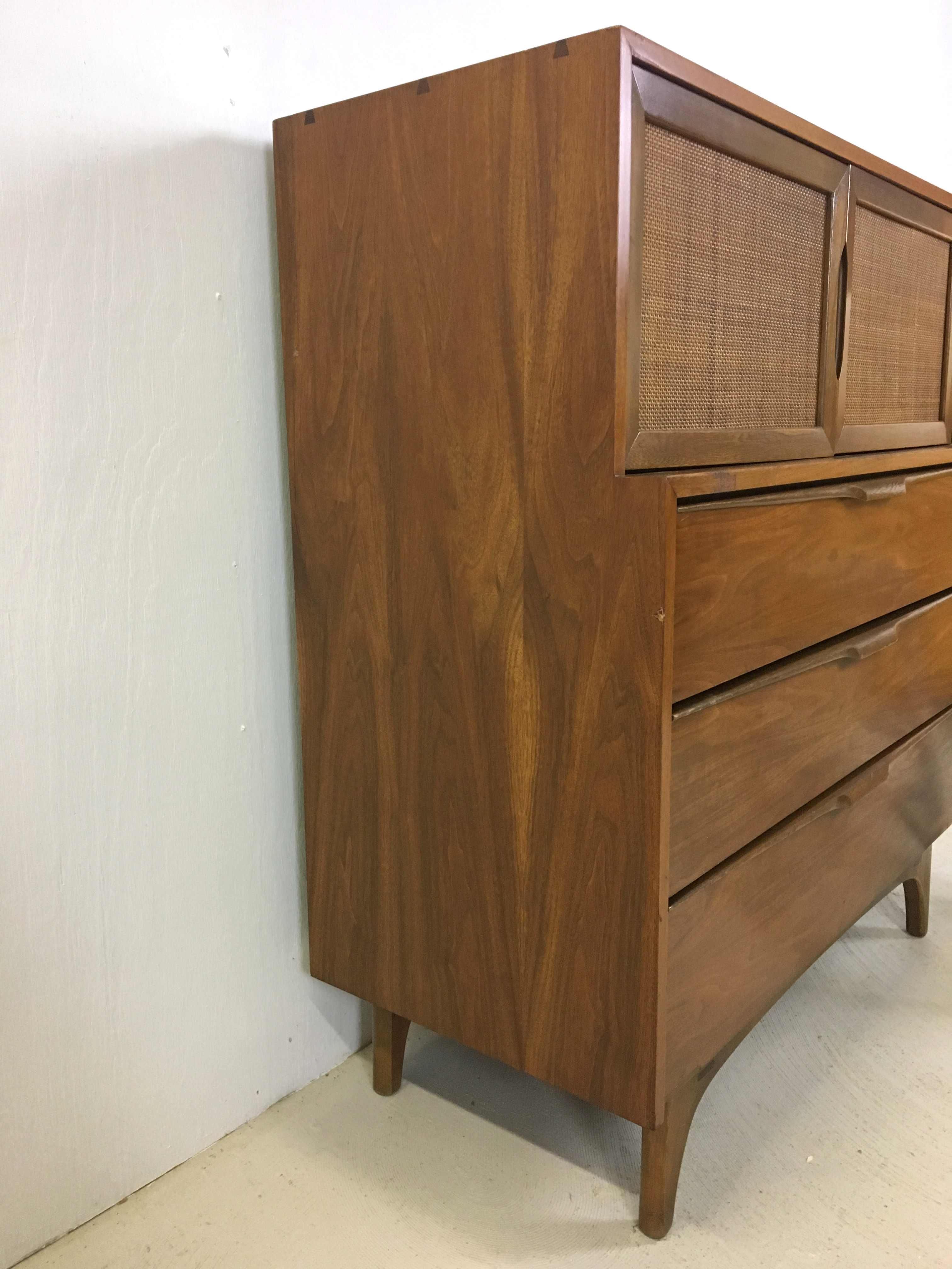 Johnson Carper Highboy Dresser