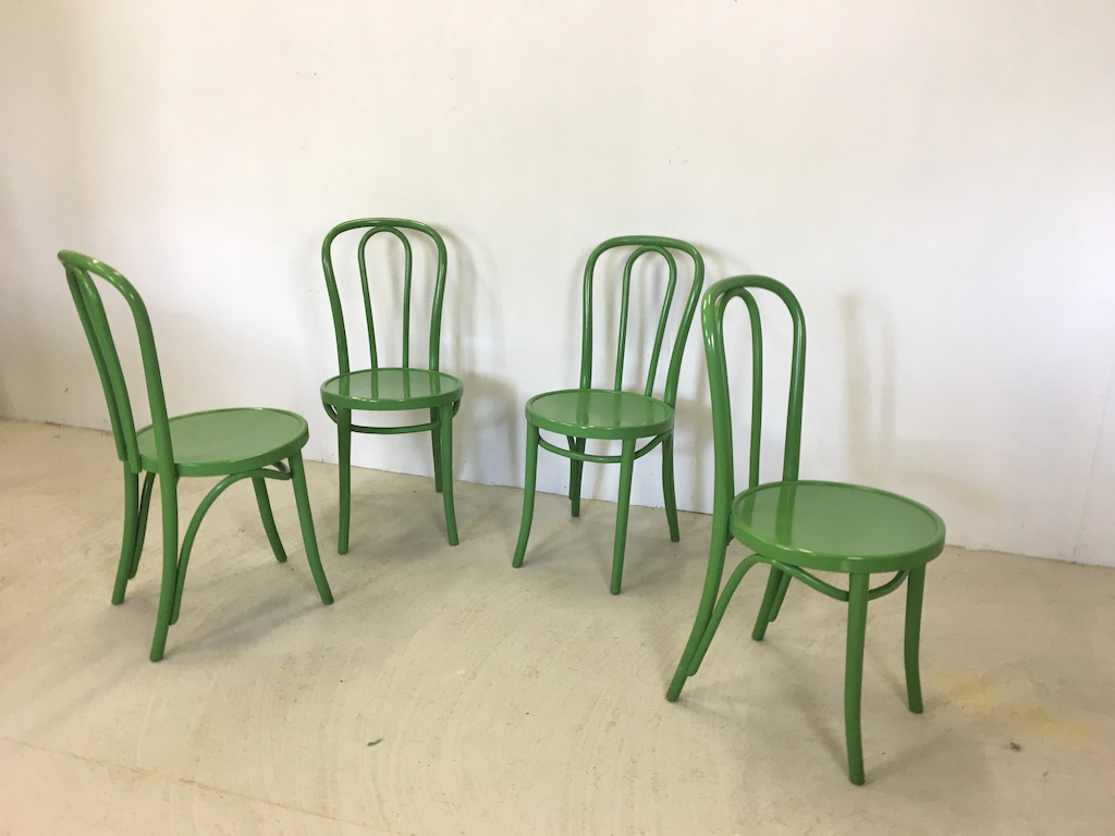 Thonet Style Bentwood Cafe Chairs
