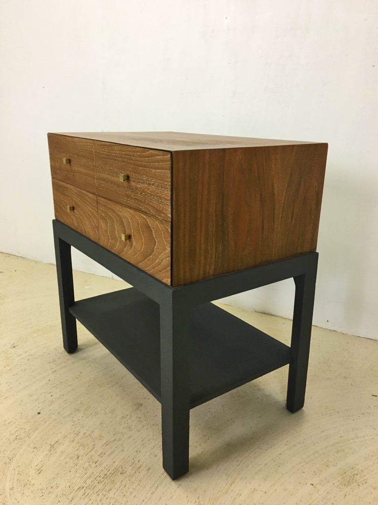 Mid Century Albert Accent Table/Nighstand