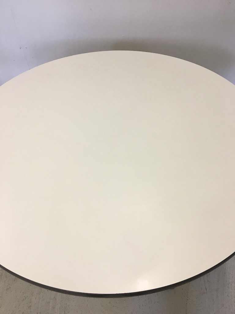 Round Table by Herman Miller with Chrome Base