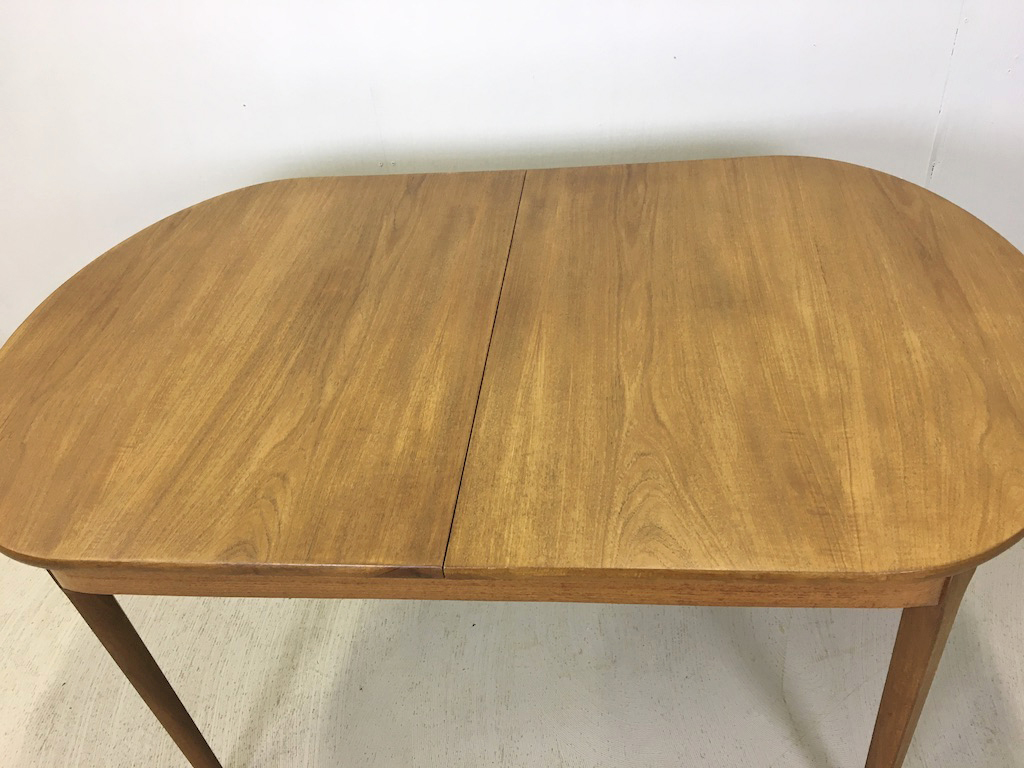 Nathan of Britain Danish Modern Teak Butterfly Table