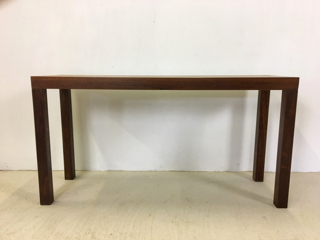 Danish Modern Parson Rosewood Console Table
