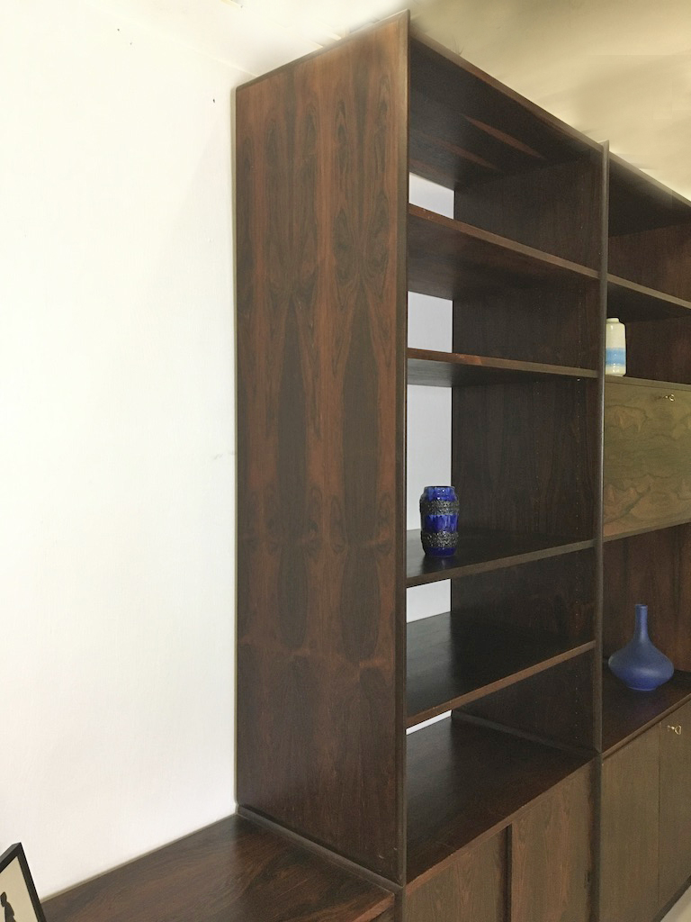 Norwegian Rosewood Wall Unit