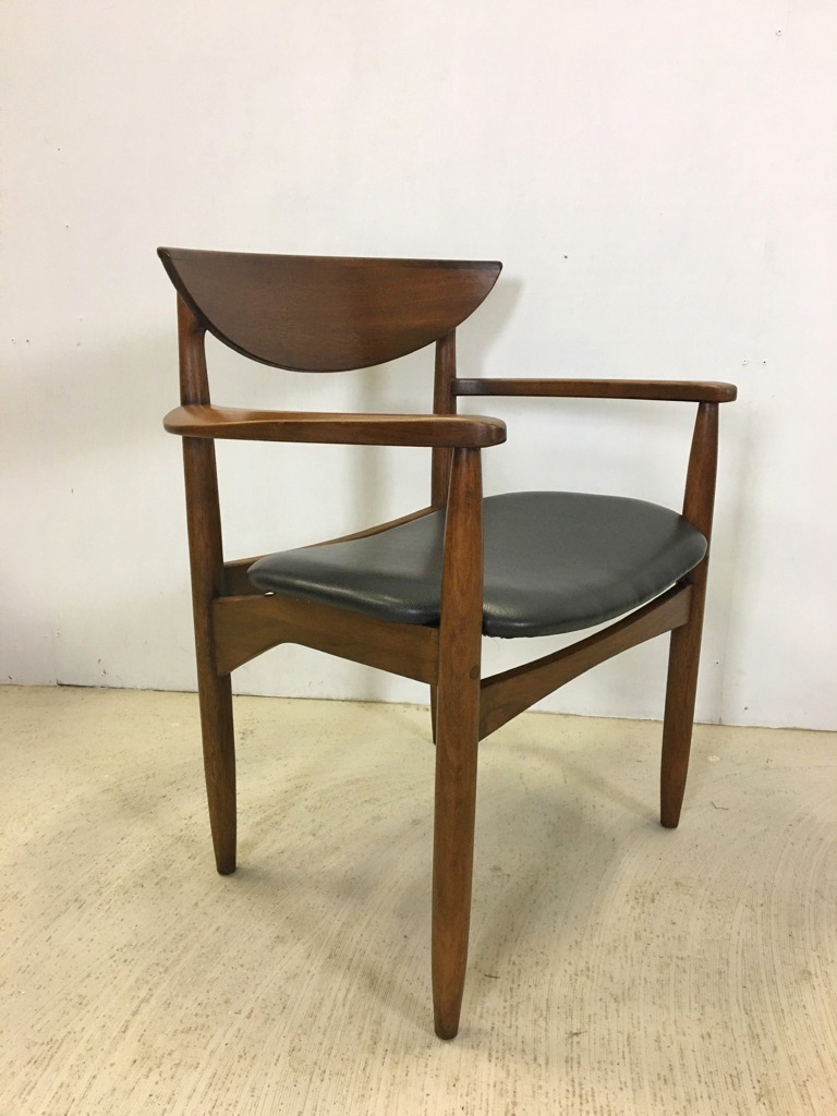 Lane Perception Walnut Dining Chairs