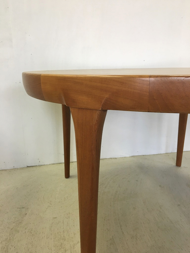 Danish Modern Koefoed-Larsen Extending Teak Dining Table
