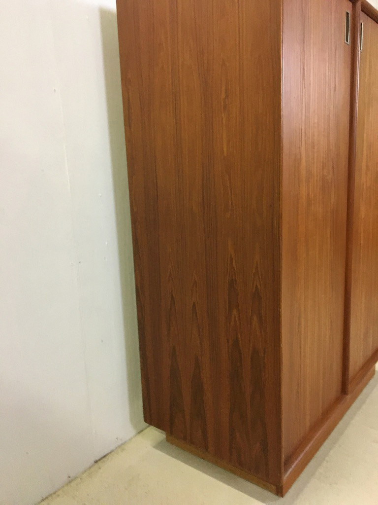 Teak Wardrobe/Gentleman's Chest