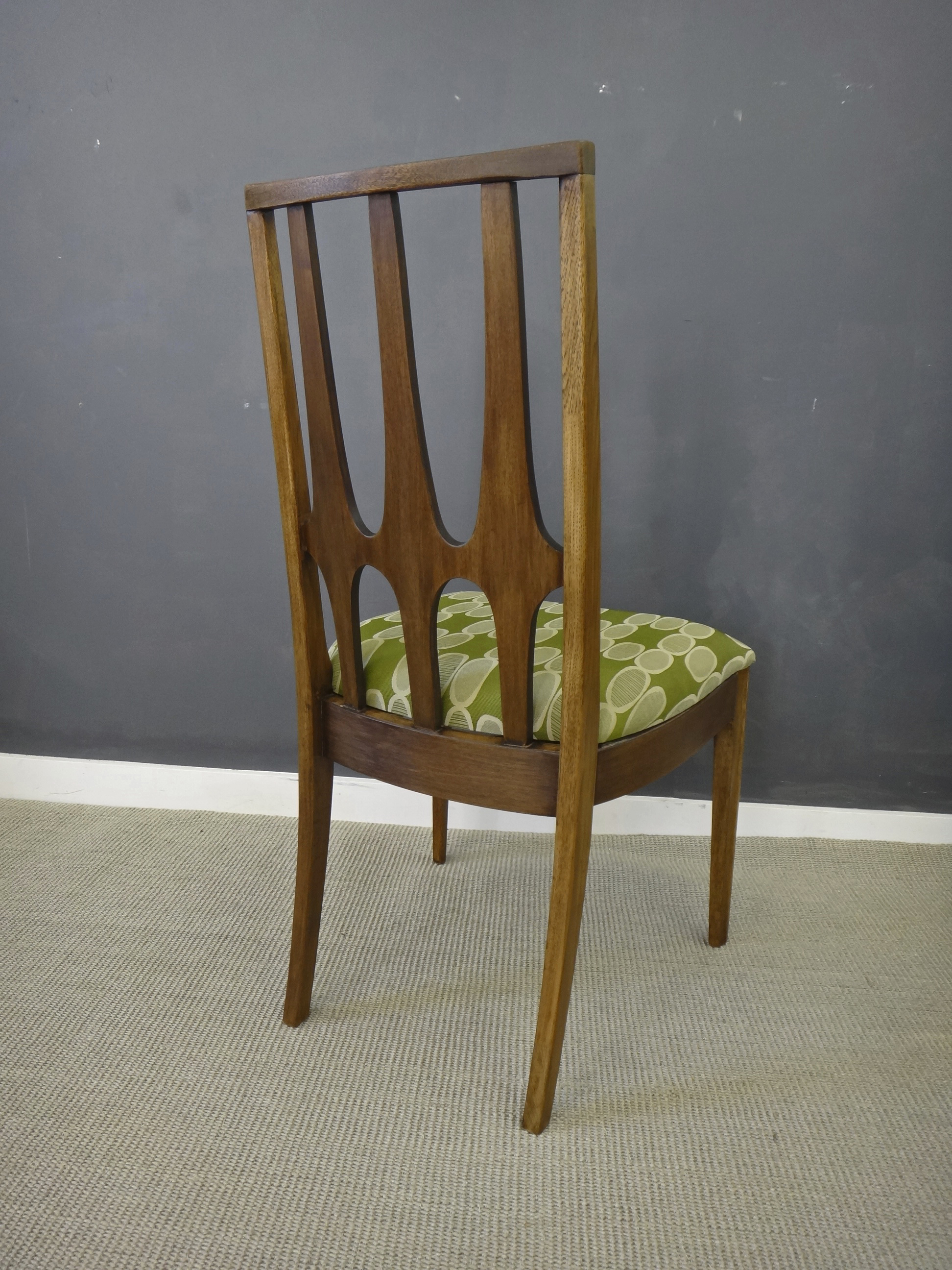 Mid Century Broyhill Brasilia Dining Chair Set