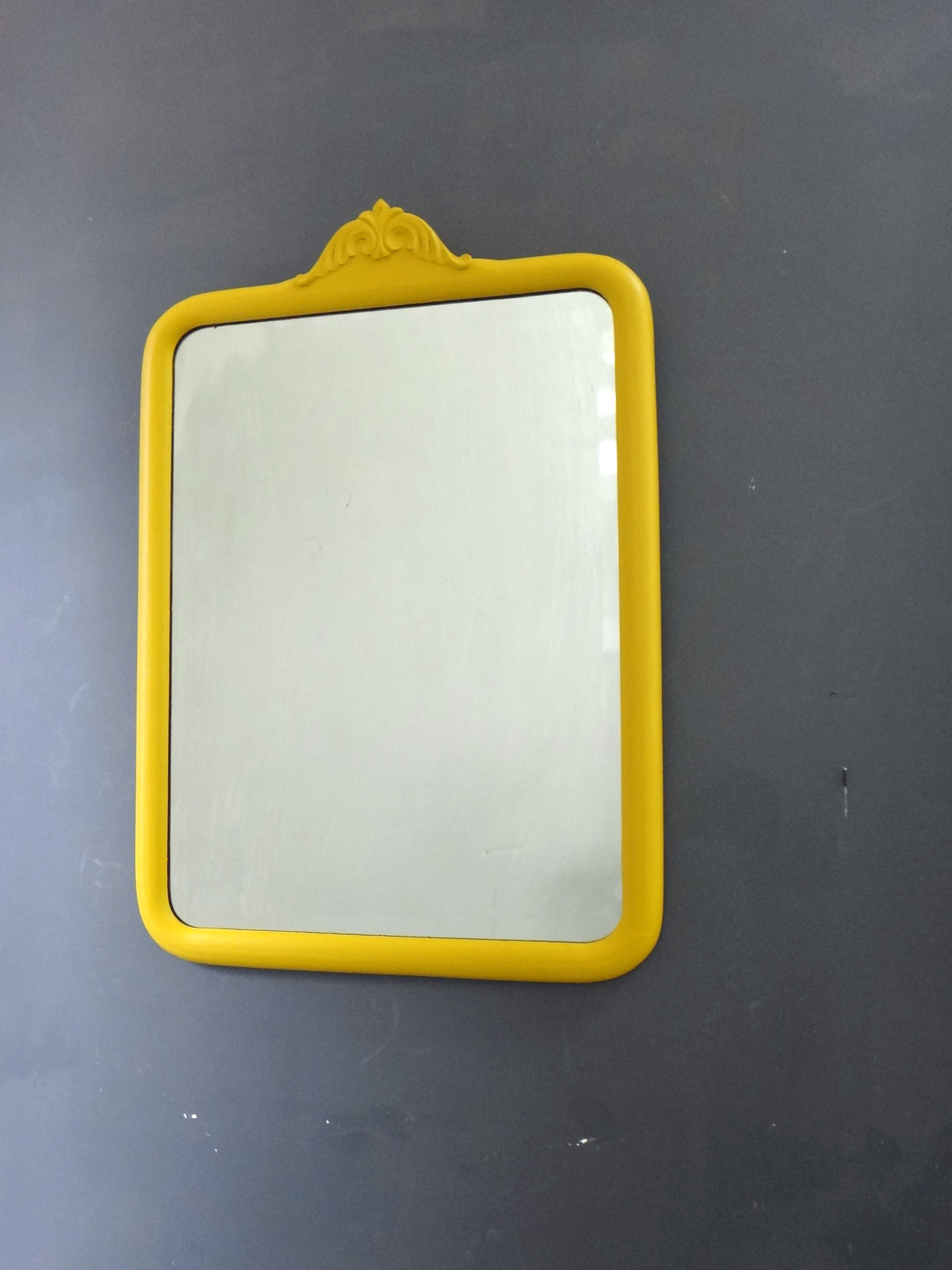 Antique Painted Mirror