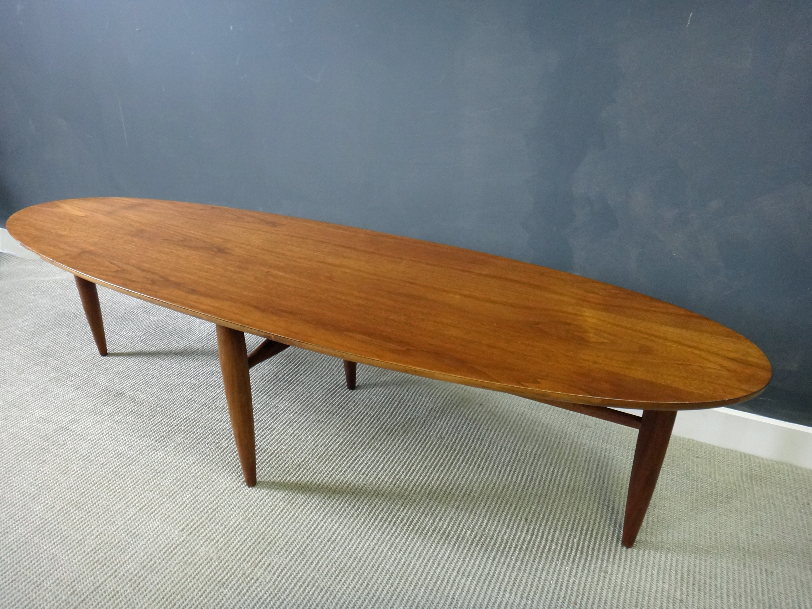 Mid Century Surfboard Coffee Table