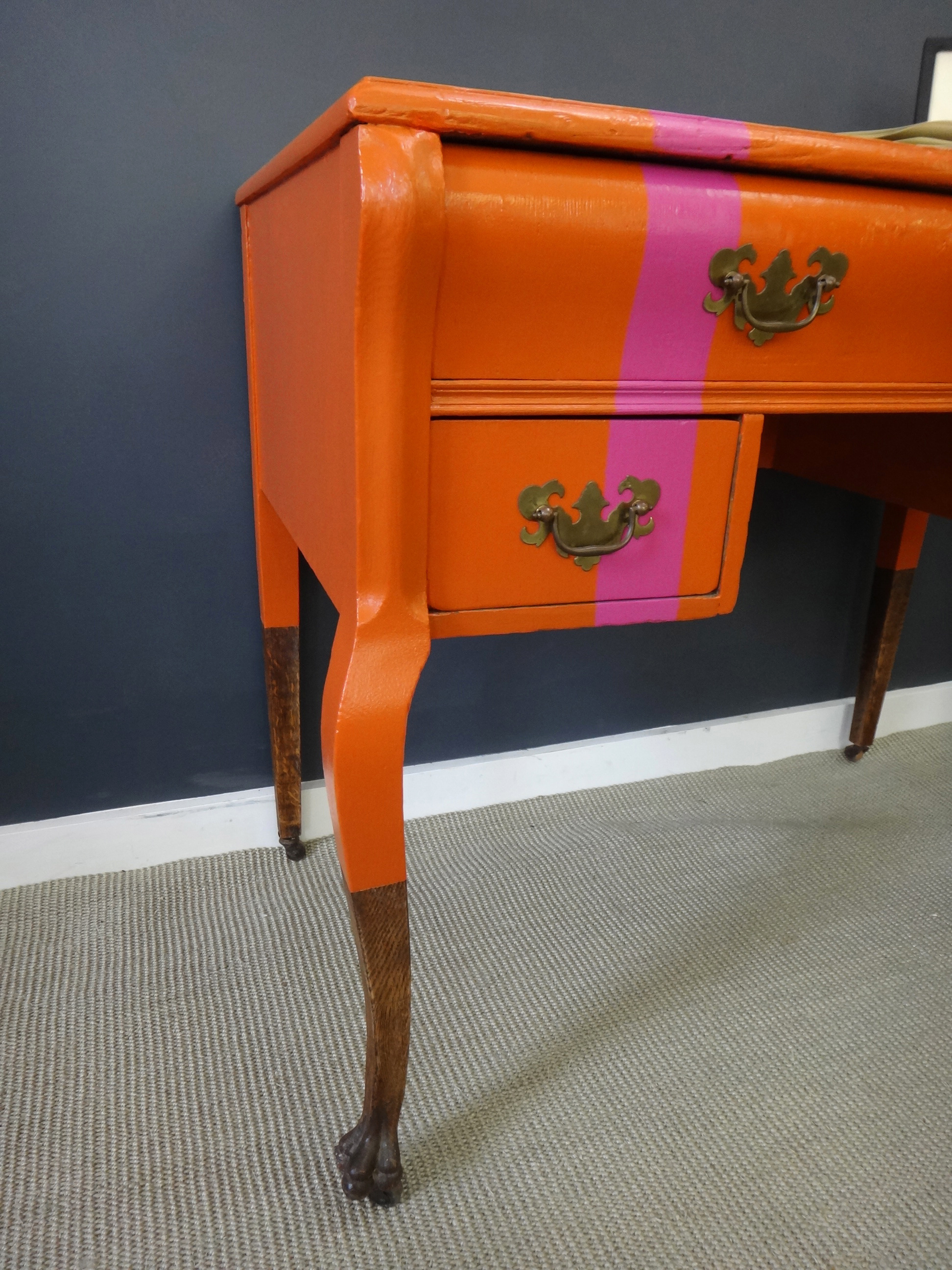 Spunked-Up Antique Vanity