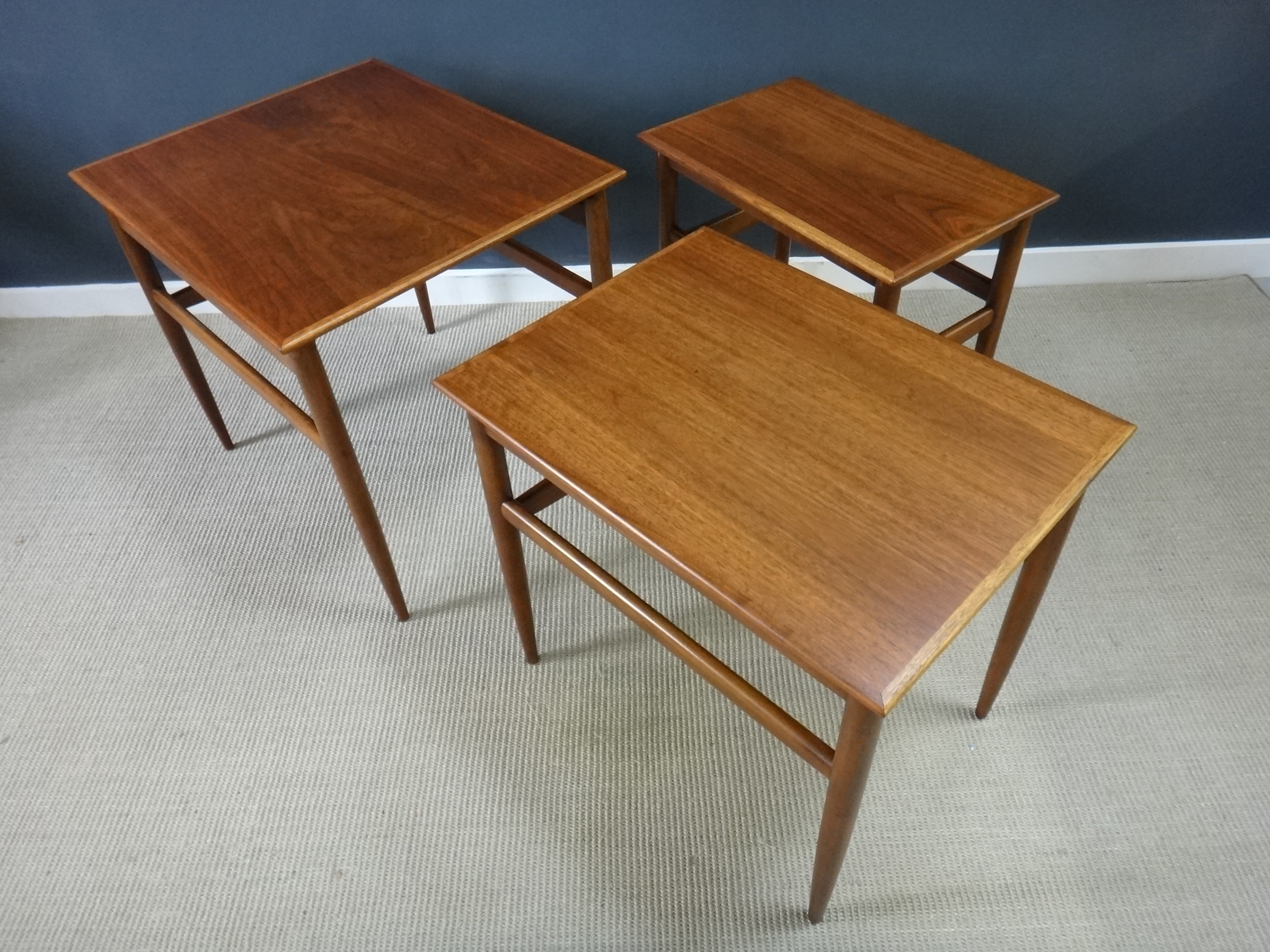Set of Mid Century Nesting Tables