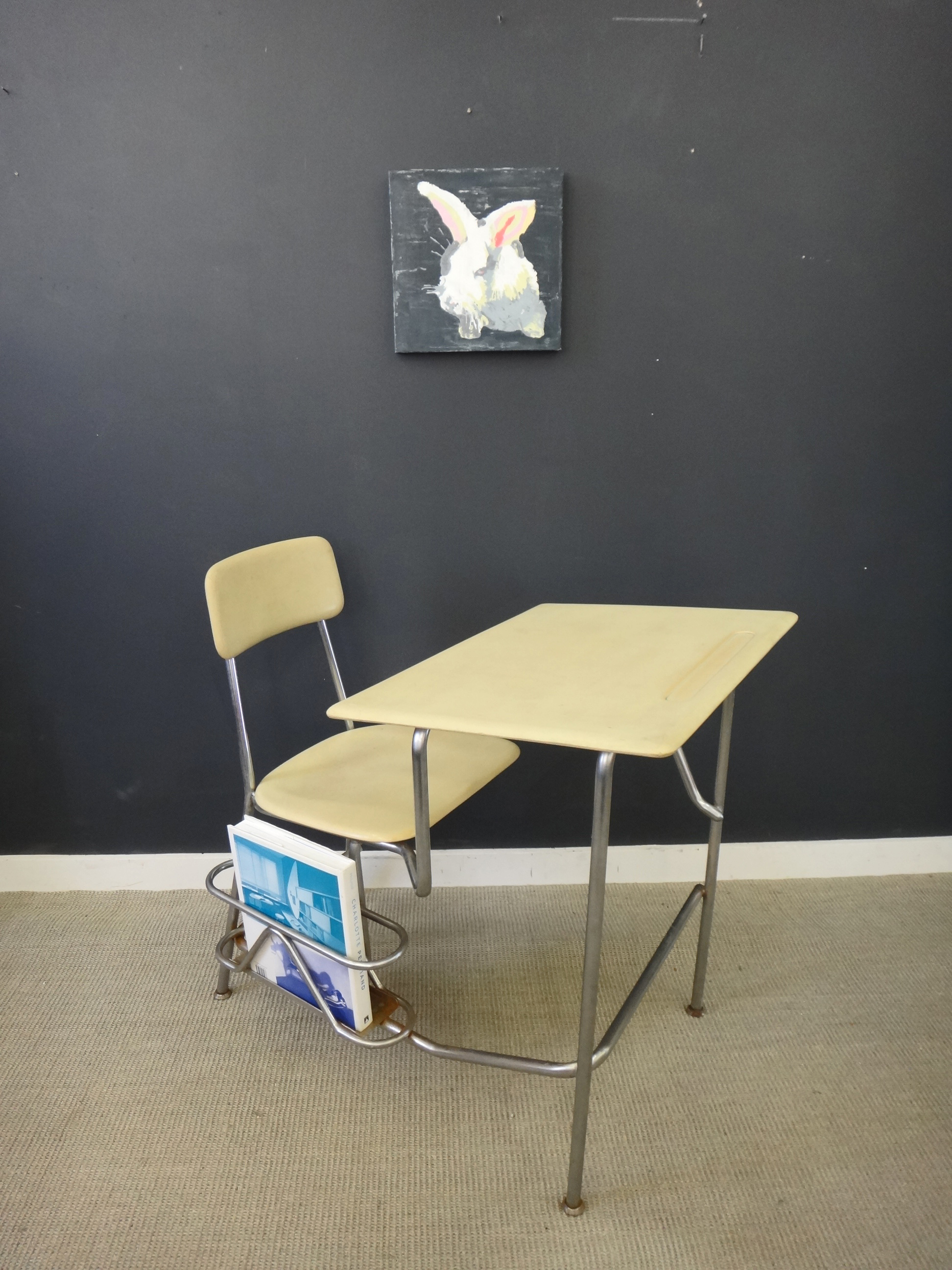 ... Vintage Heywood Wakefield School Desk/Chair Combo ...