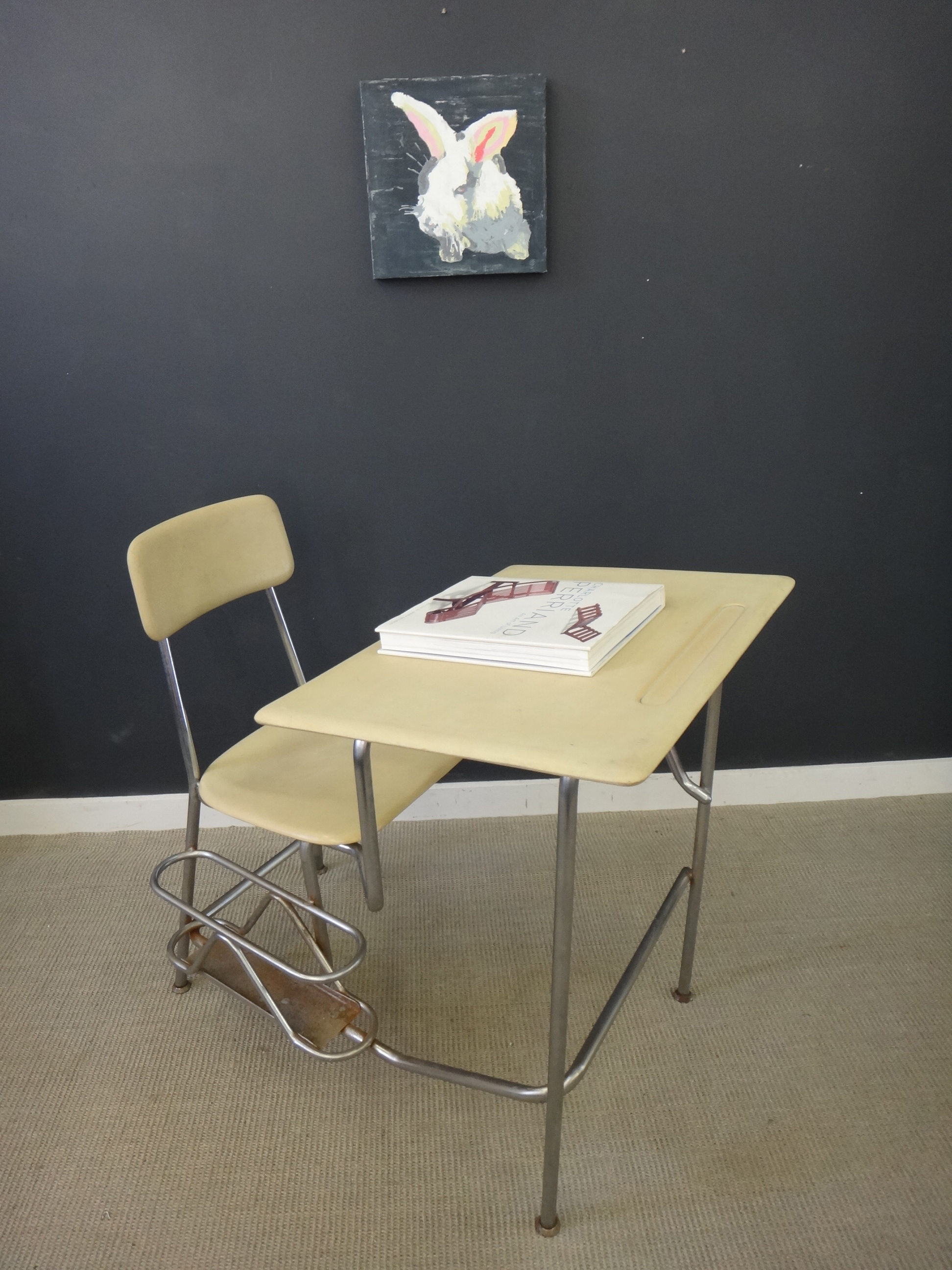 ... Vintage Heywood Wakefield School Desk/Chair Combo