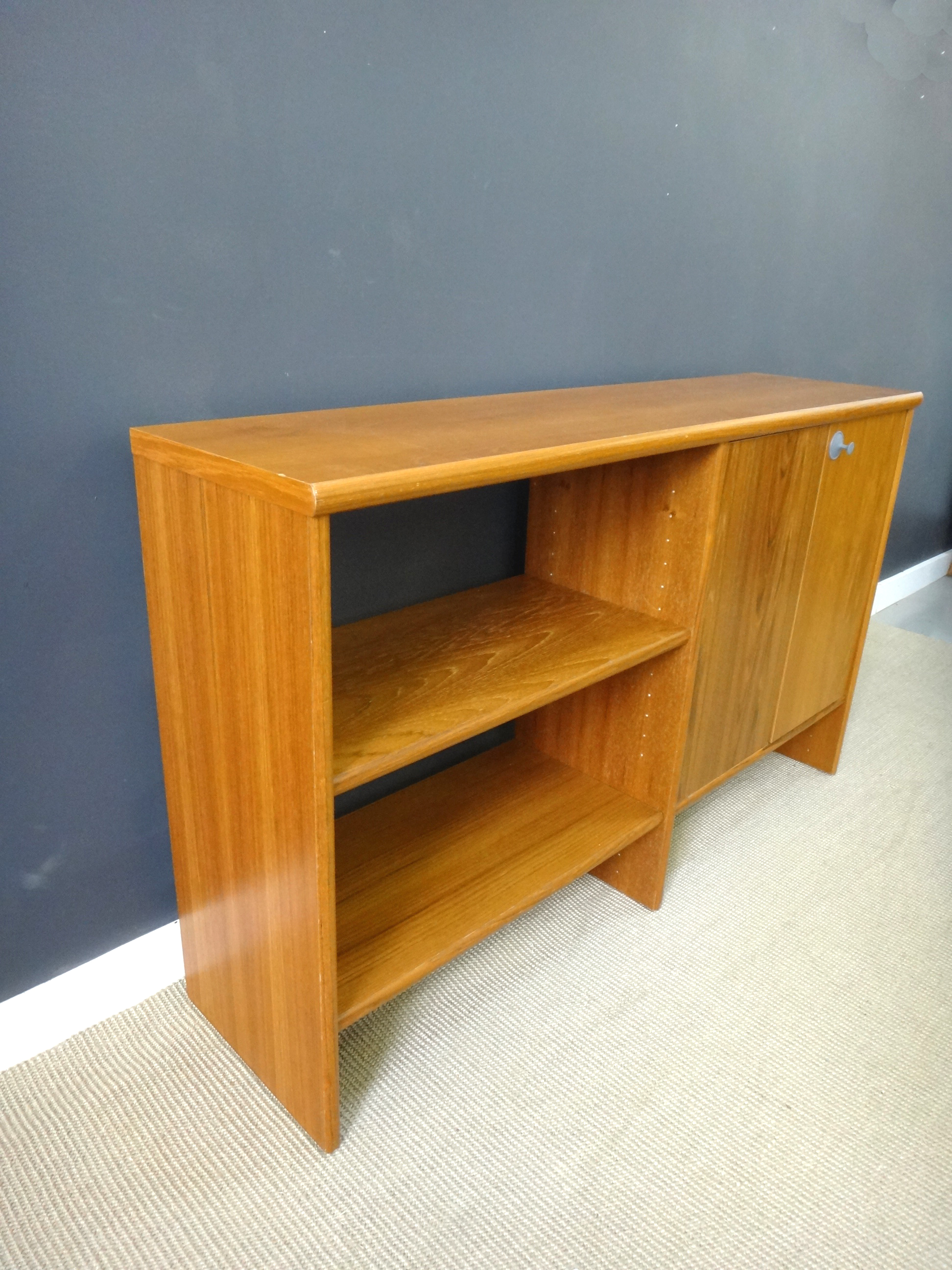 Danish Modern Teak Shelf Unit