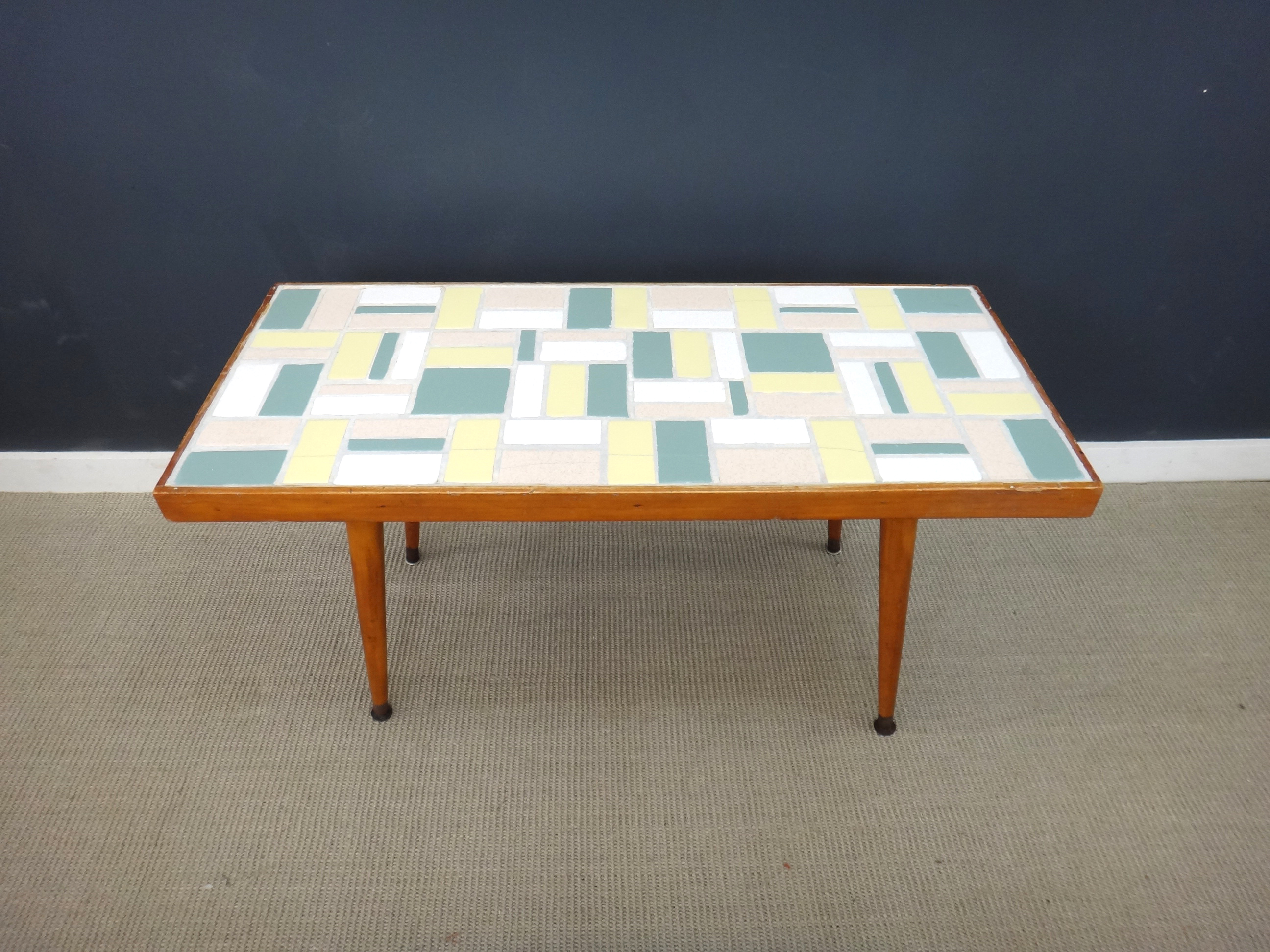 Vintage Tile Coffee Table