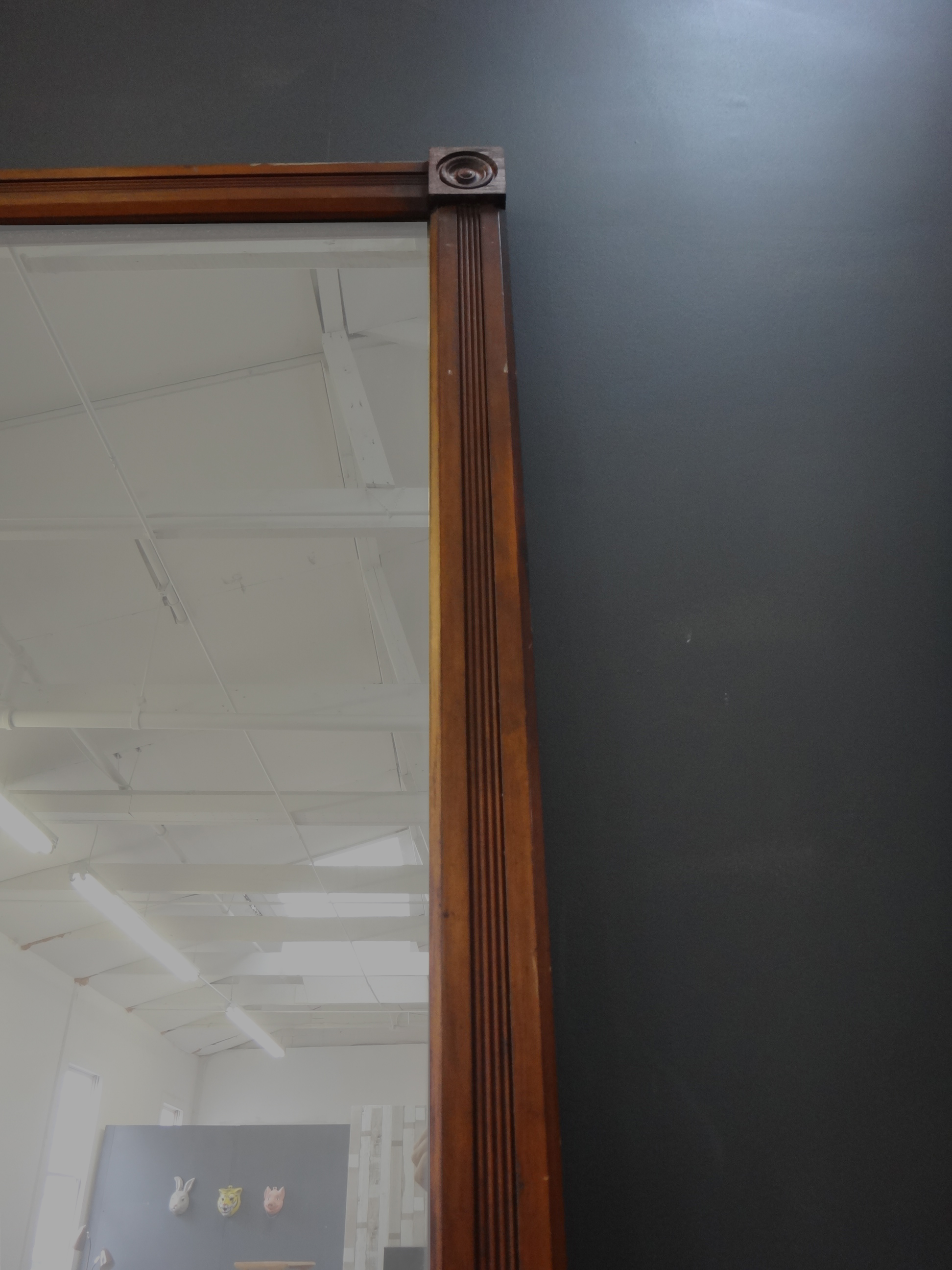 Uber Tall Antique Mirror