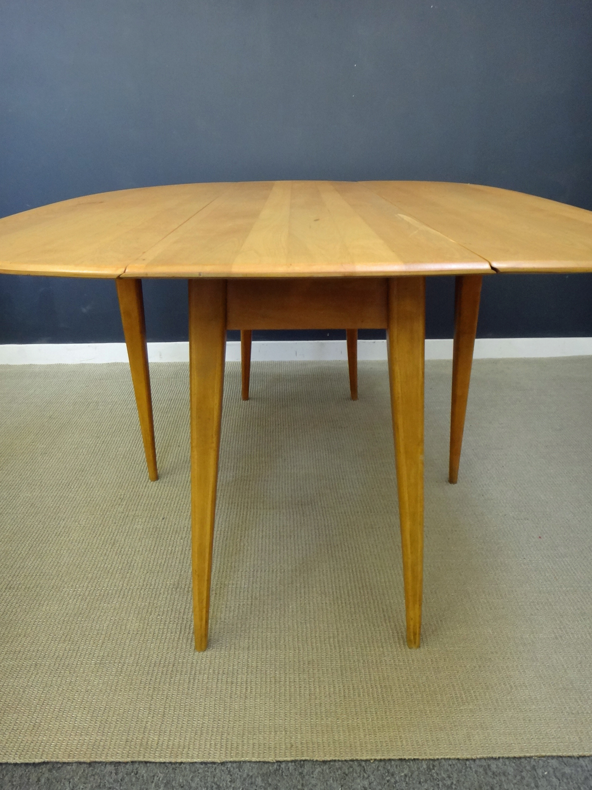 ... Heywood Wakefield Drop Leaf Dining Table ...