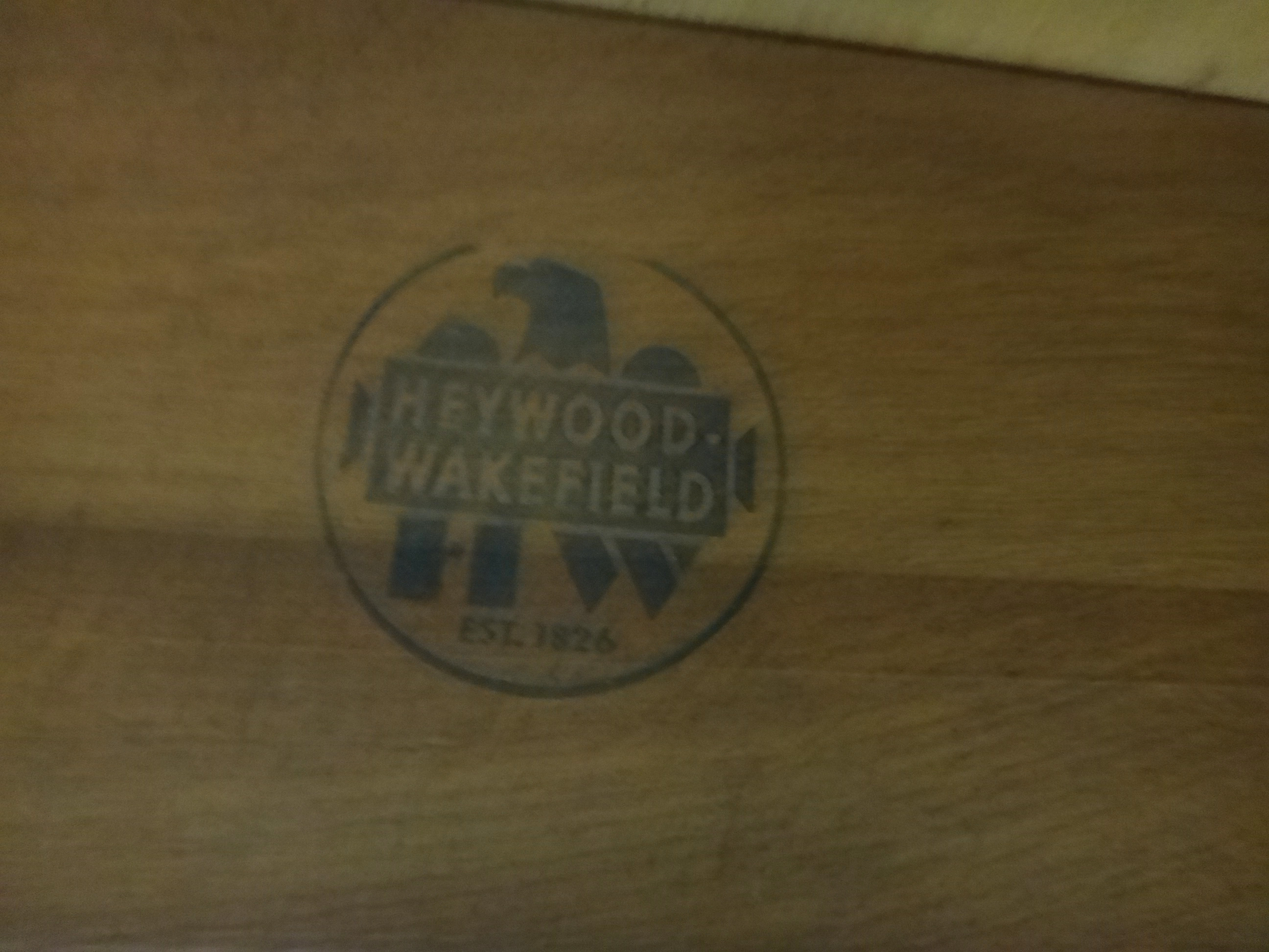 Heywood Wakefield Drop Leaf Dining Table