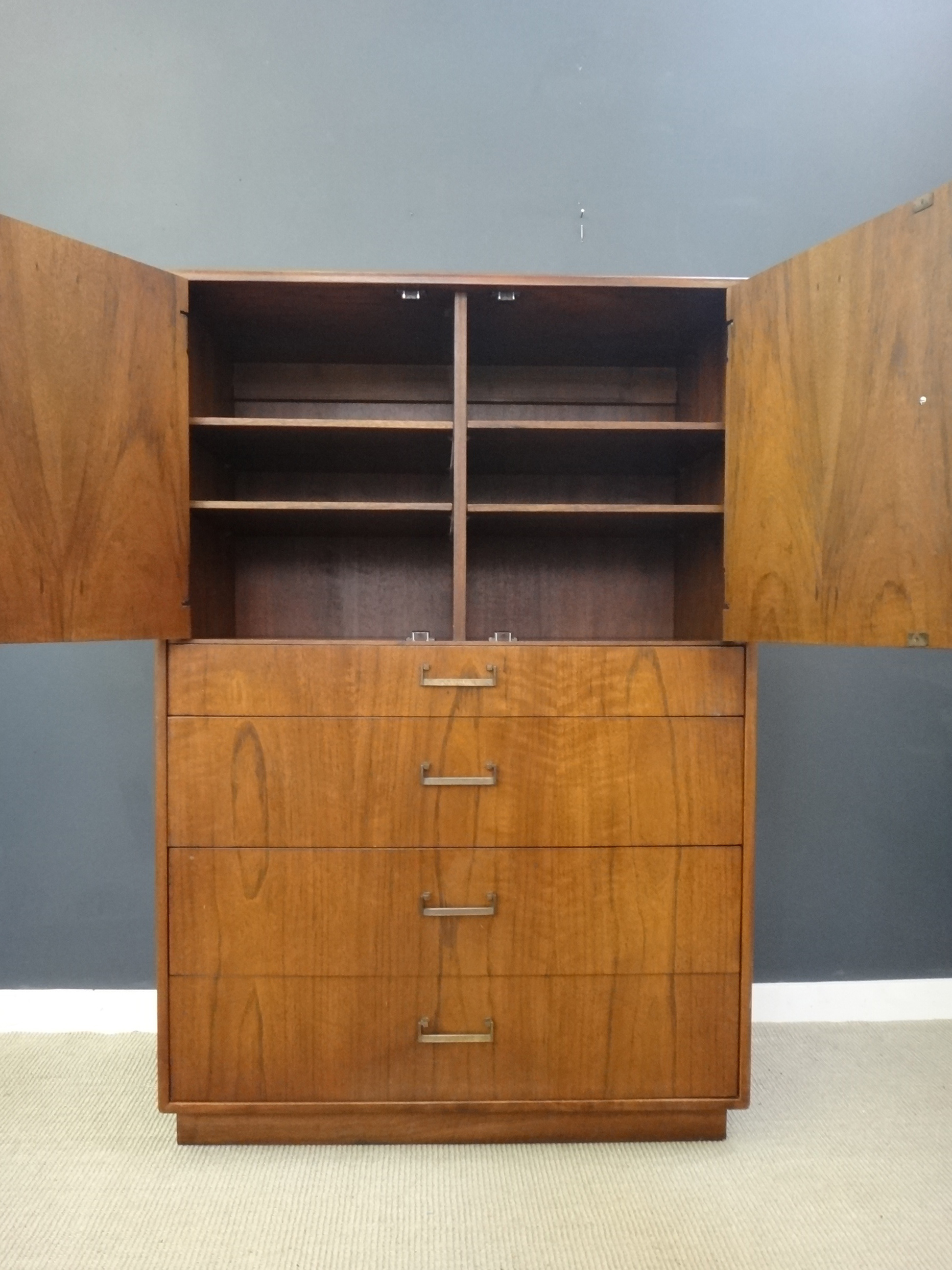 Founders Mid Century Upright Bureau