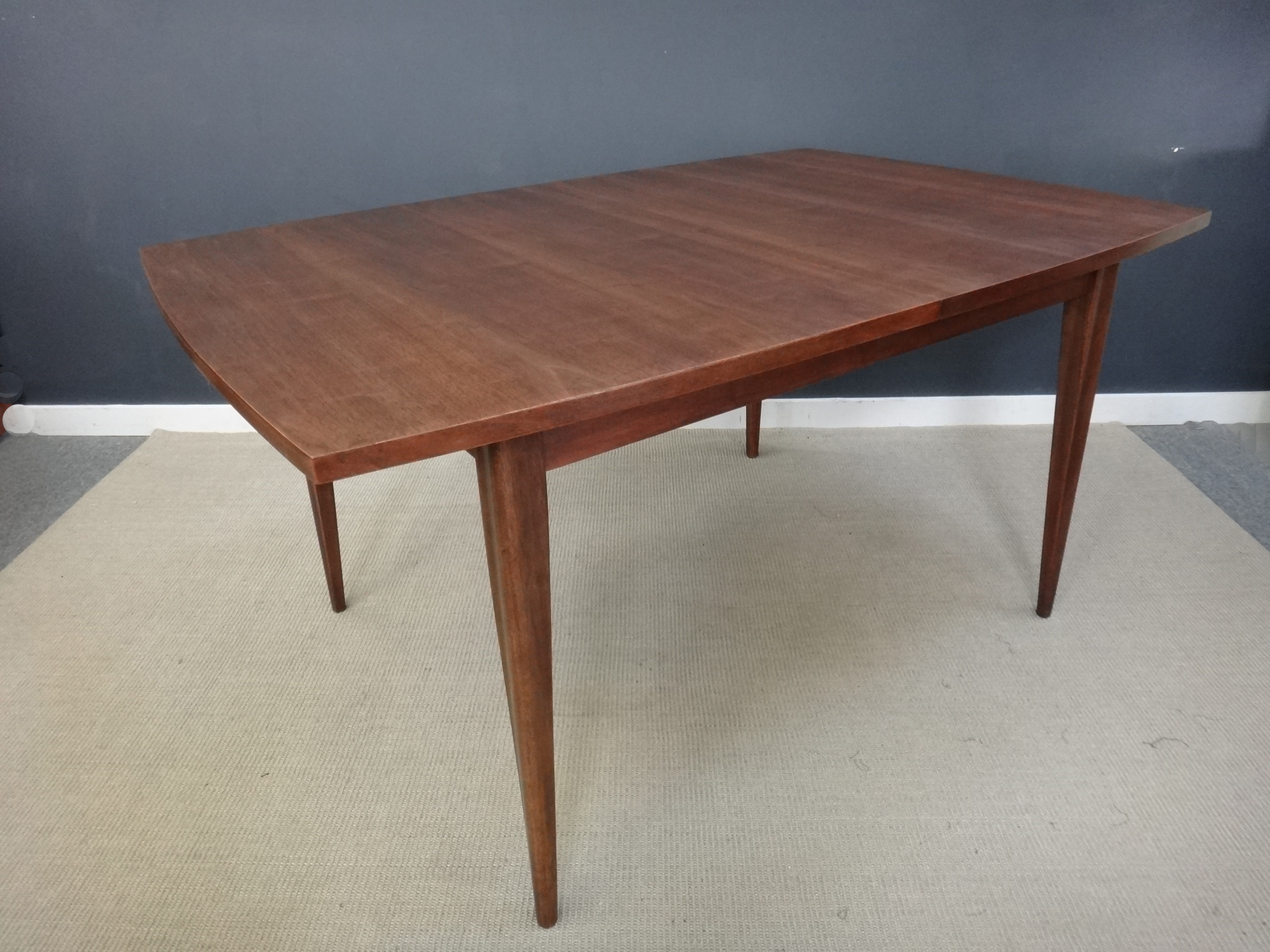 Sold Mid Century Modern Broyhill Saga Dining Table HD Walls Find