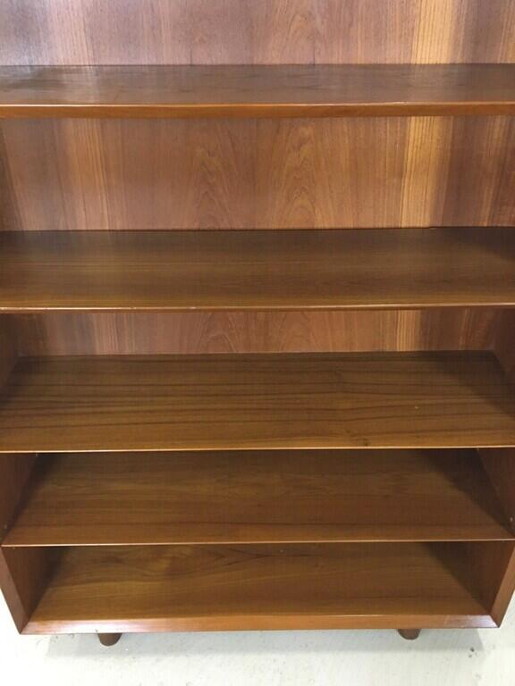 Danish Modern Teak Bookcase