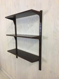 Rosewood WallMounted Shelving