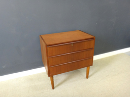 3Drawer Petite Teak Chest