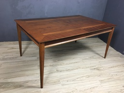 Lane Walnut Dining Table