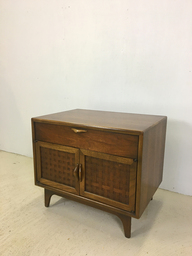 Lane Perception Walnut Side TableCabinet