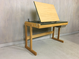Vintage British Thornton Co Drawing DeskTable