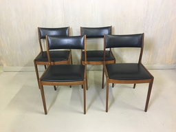 Set of Johannes Andersen Teak Chairs for Uldum Mobelfabrik