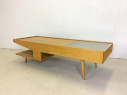 Brown Saltman Coffee Table by John Keal