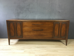 SALE  Broyhill Emphasis Walnut Lowboy Bureau