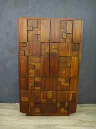 Lane Brutalist Mosaic Highboy