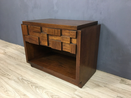 SALE  Lane Brutalist Mosaic Night TableEnd Table