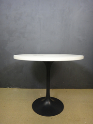 SALE  White Laminate Round Burke Table