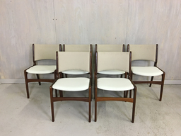 Set of Henning Kjaernulf Danish Modern Teak Dining Chairs