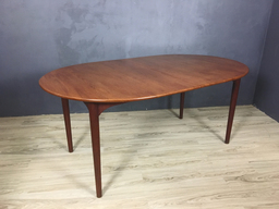 Dux Danish Modern Teak Dining Table