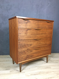 Harmony House Walnut Upright Bureau