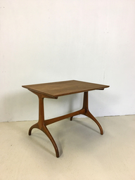 Henredon Walnut Side Table
