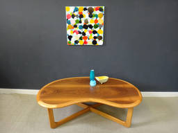 On Sale  Mid Century Lane KidneyShaped Coffee Table