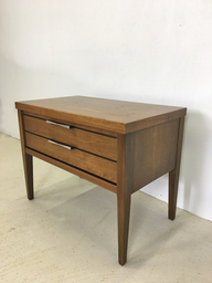 Lane Bedside or Accent Table with Bowtie Pulls