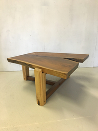 Custom Black Walnut Live Edge CoffeeTable