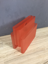 Mod Orange Magazine Holder