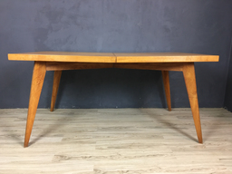 SALE  Mid Century Solid Maple Dining Table