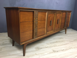 Bassett Mayan Collection Lowboy BureauCredenza